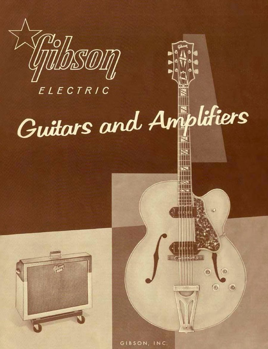 Gibson instruments ad | Guitar & Music Artifacts | Gibson electric