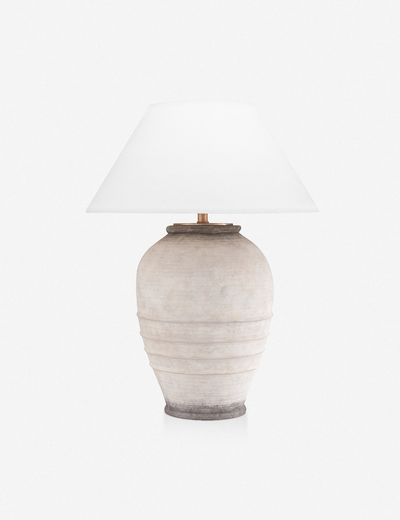 Isabel Table Lamp In 2020 Table Lamp Lamp Linen Shades