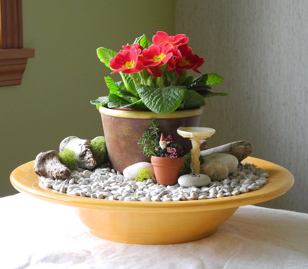 Mini Garden Ideas hit the road jack Fast Easy Indoor Miniature Garden Ideas For The Black Thumb