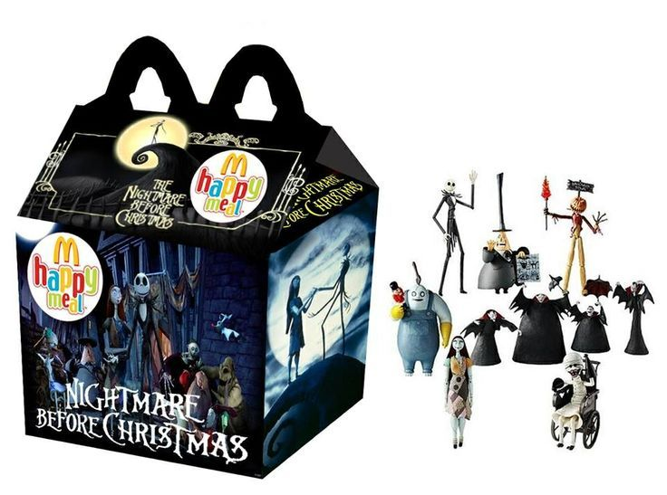 Is Mcdonalds Coming Out With The Nightmare Before Christmas Happy Meal Toys 2020 This is so cool where was I for that | Nightmare before christmas
