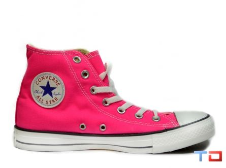 CONVERSE ALL STAR HIGH TOPS - KNOCKOUT PINK  9039fb1b0