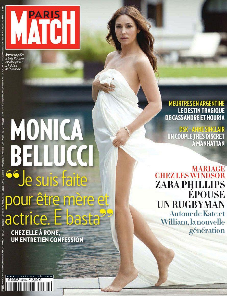 bellucci pregnant Monica