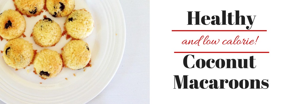 Healthy & Low Calorie Coconut Macaroons