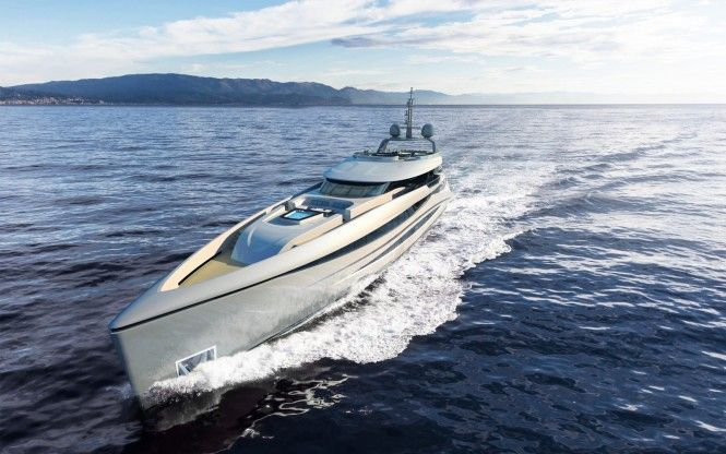 Superyachten concept  H2 Presents New 50m Superyacht Concept Elara | Superyacht Design ...