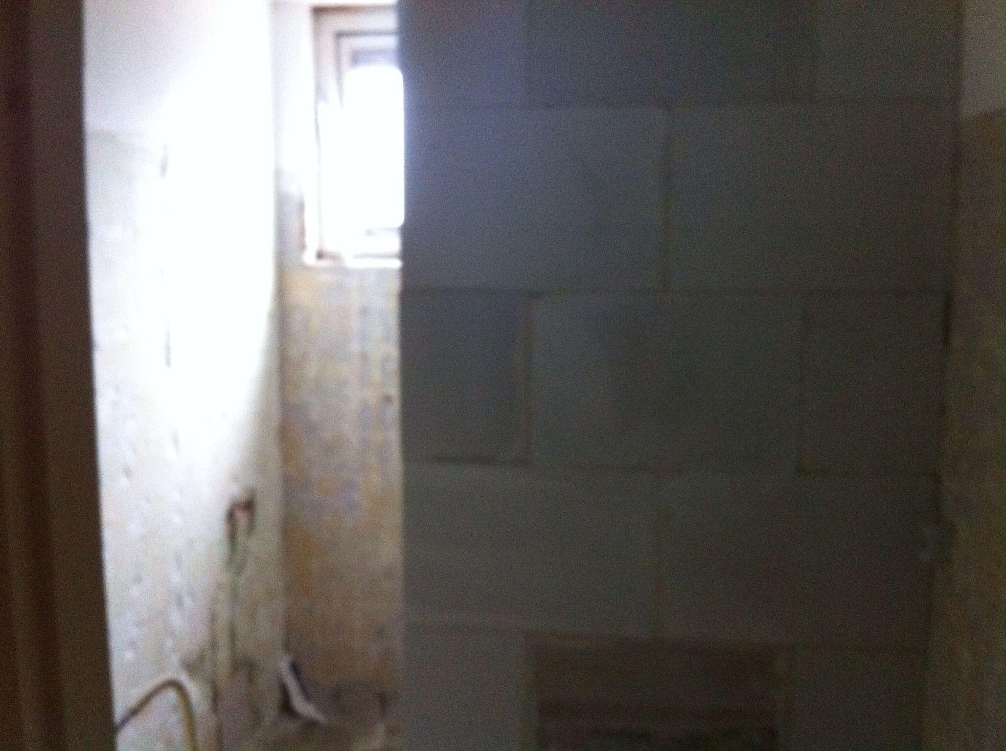 rebuilding muurtje bouwen inloopdouche bathroom remodeling