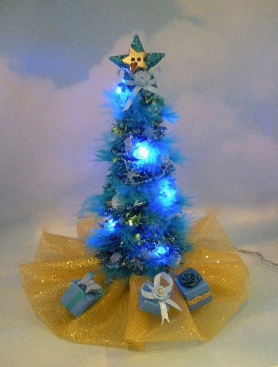 Mini Christmas Tree Battery Operated Led By Dorisdressesdolls