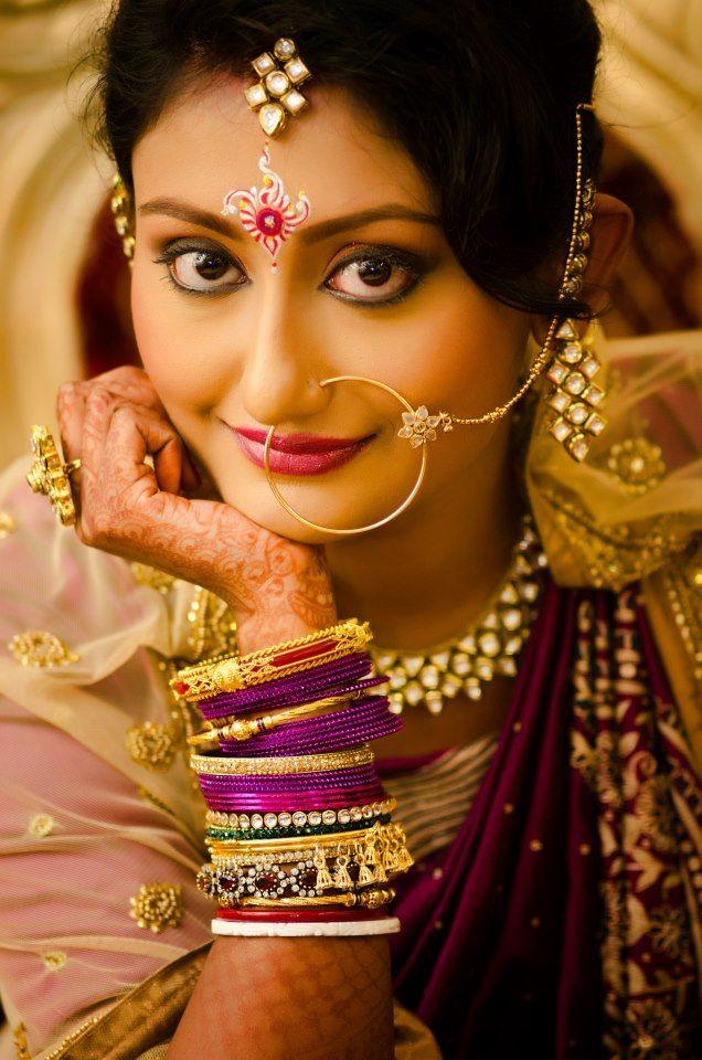 Bridal Makeup by Ujjwal Debnath..Visit www