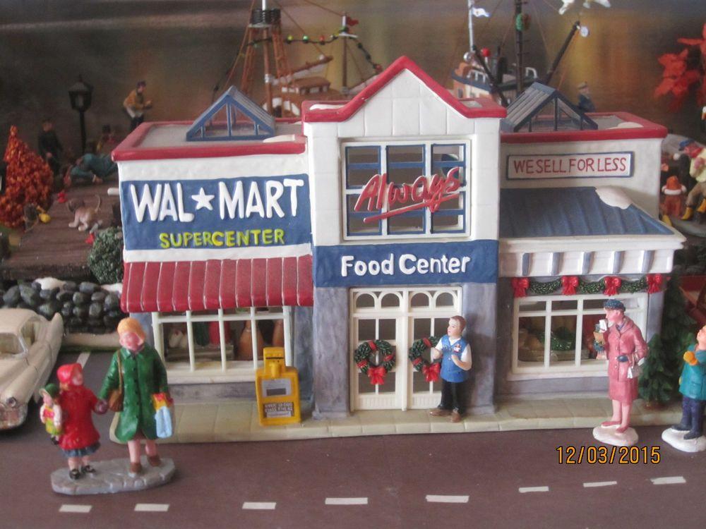 Train Garden Village House Walmart Supercenter Market Dept