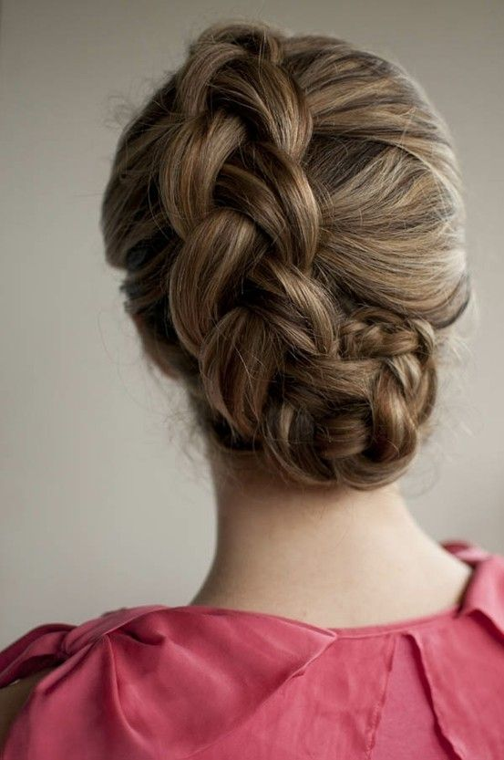 5. Braided Bun - 13 Fun Braided Hairstyles to Try ... | All Women ...