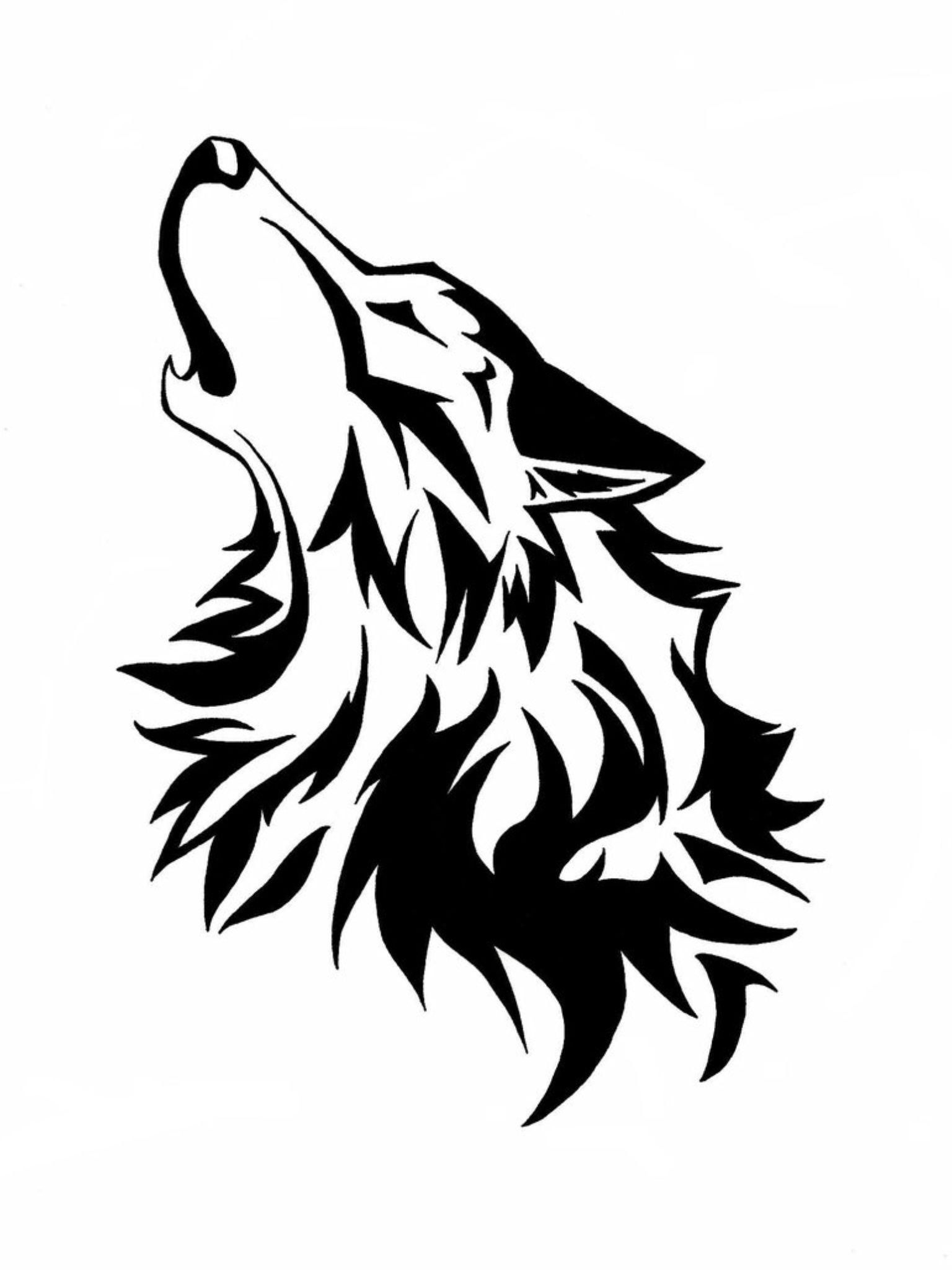 Картинки тату волка белой магии