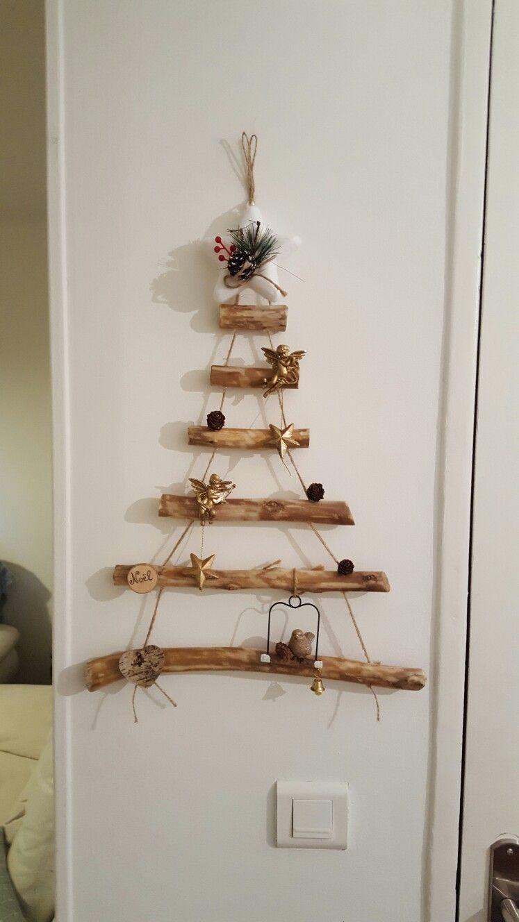 Décoration de Noël en bois flotté | navidad nini