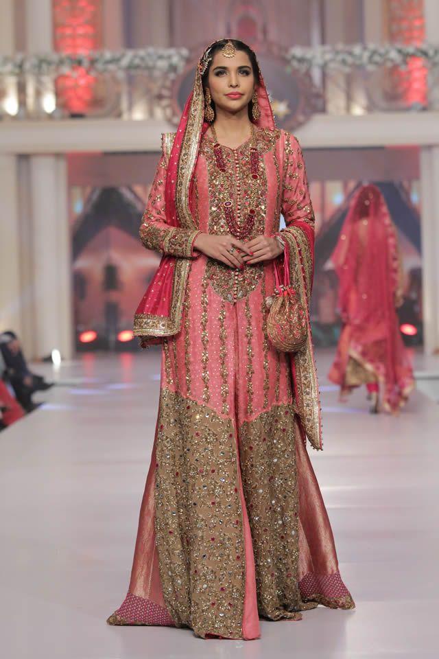 2015 Telenor Bridal Couture Week Ayesha Ibrahim Collection