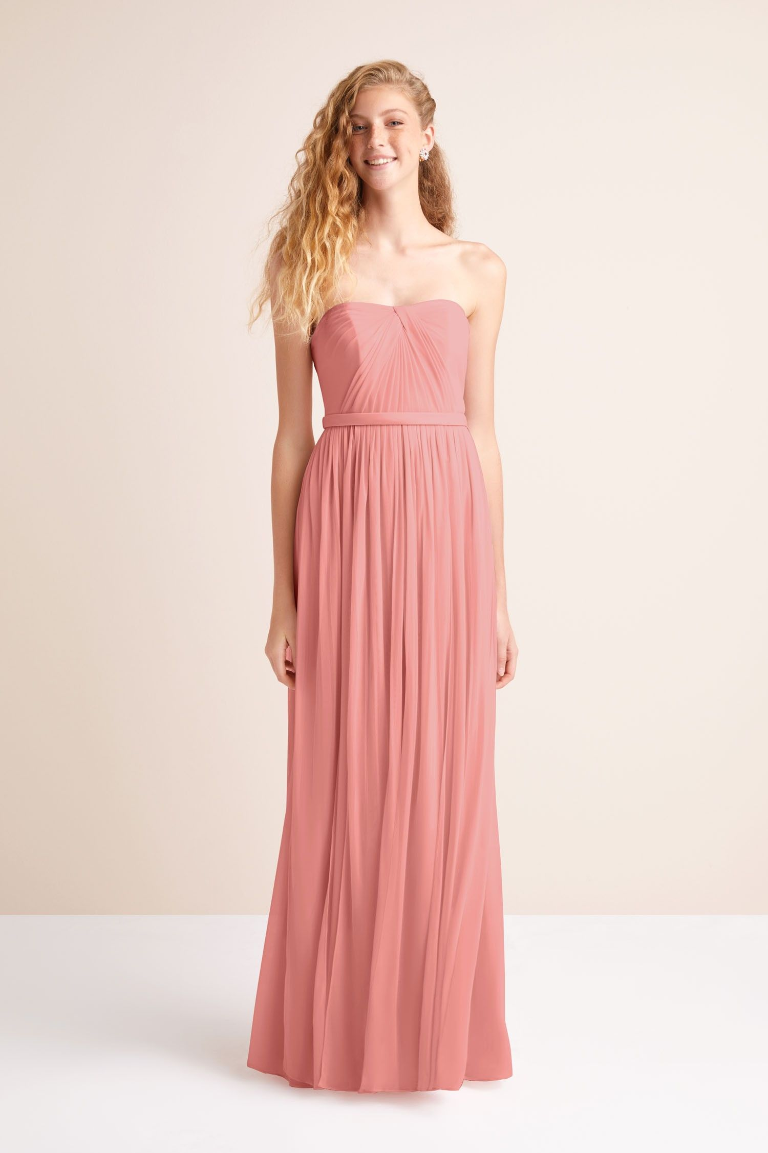 Long Mesh Style,Your,Way 6 Tie Bridesmaid Dress