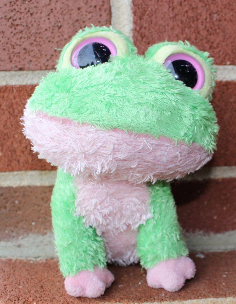 Ty Beanie Boo Kiwi Frog 2009 Rare Retired Collectible 6 Plush