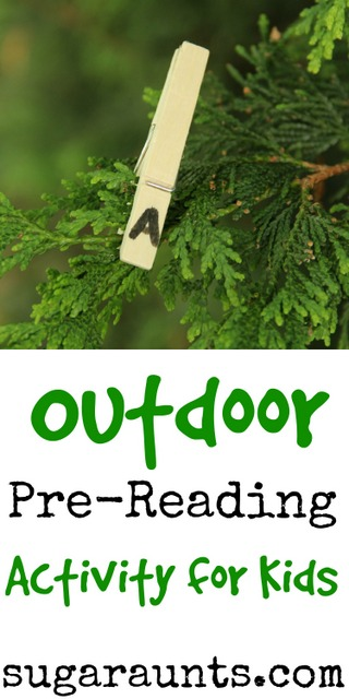 Outdoor Pre-Reading Activity for New Readers - The OT Toolbox