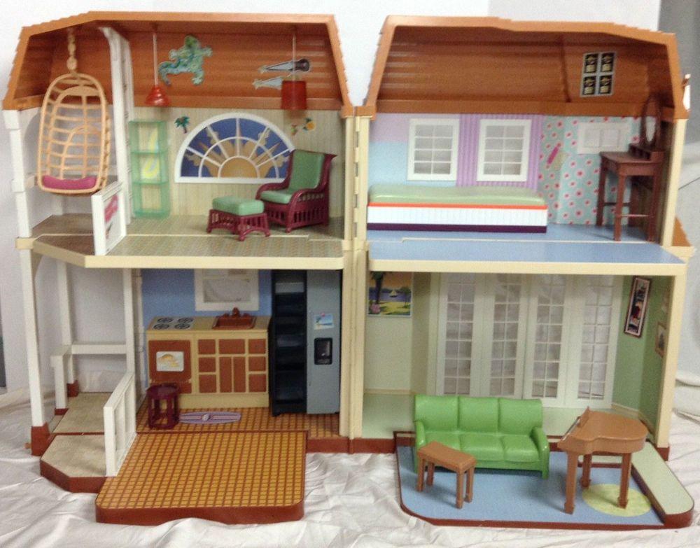 Disney Hannah Montana Dollhouse Malibu Beach House Great