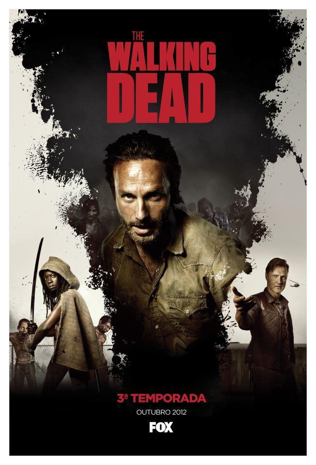 The Walking Dead Season 3 Poster The Walking Dead The Walking Dead 3 Illustration Techniques