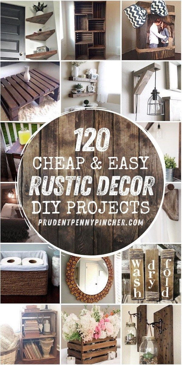 120 Cheap and Easy Rustic DIY Home Decor -   18 home decor diy crafts bedrooms ideas