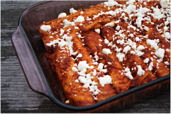 enchiladas rojas beautiful mexico pinterest