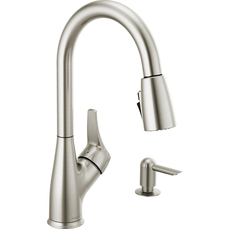 Apex Pull Down Single Handle Kitchen Faucet Single Handle Kitchen Faucet Kitchen Faucet Kitchen Handles