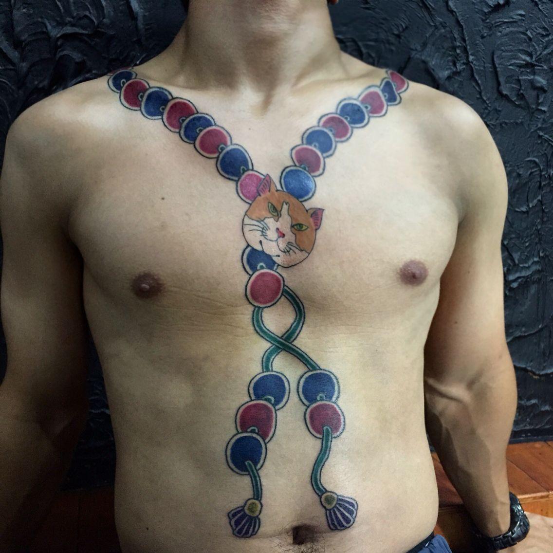 Necklace Irezumi Tattoo