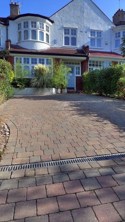 Block Paving Front Garden Driveway