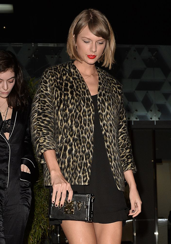 Taylor Swift Louis Vuitton Pee Malle Clutch Bags Easter Party Bag