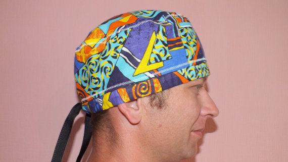 Scrub cap surgical hat sewing patterns instant от MayorovaStyle ...