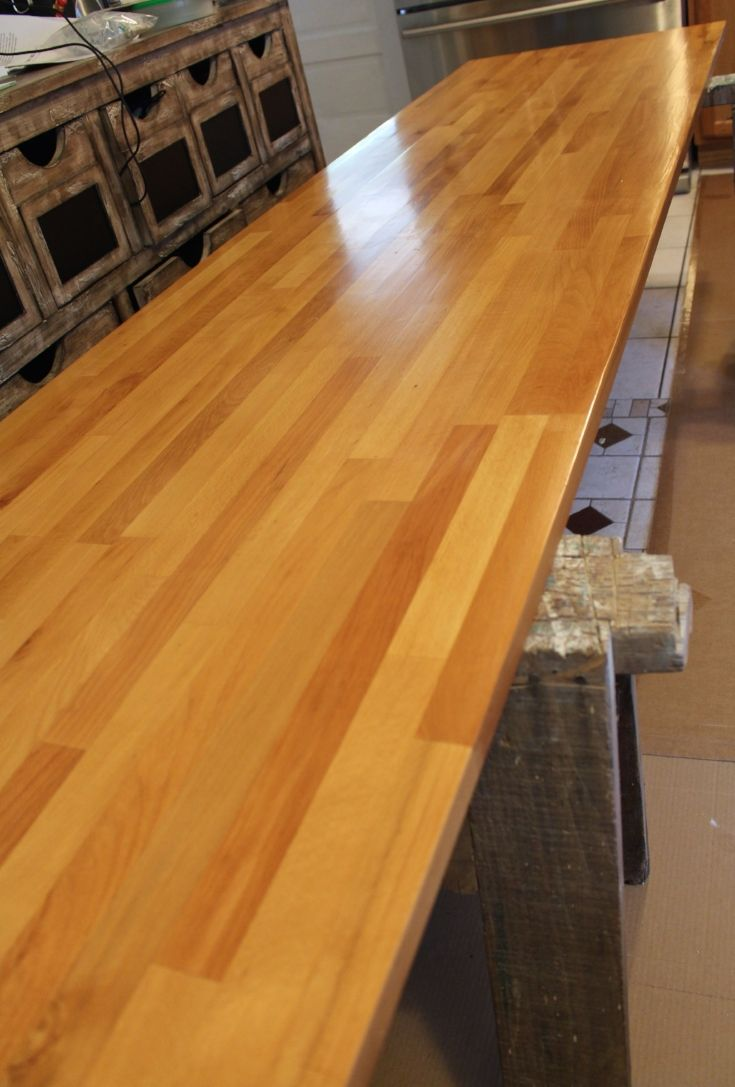 Best Finish For Butcher Block Countertop: How To Finish Ikea Butcher Block Countertops