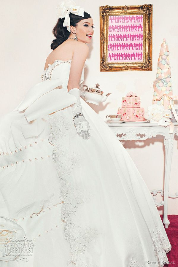 Barbie Bridal Wedding Dresses Gowns From The Sixth Collection