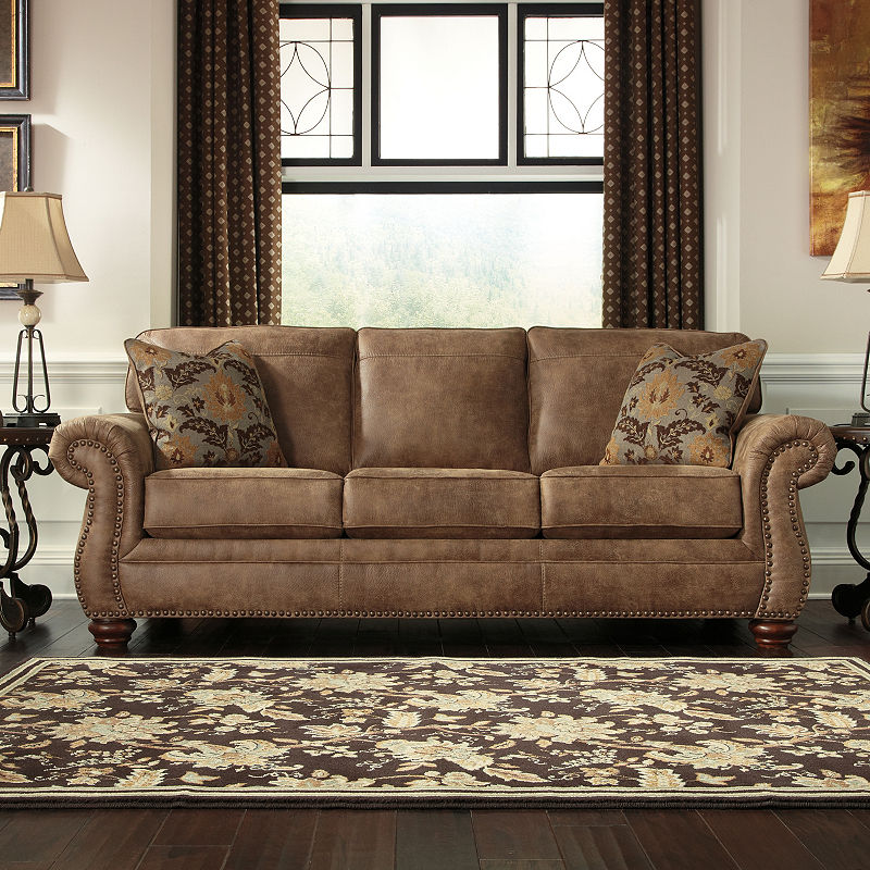 Signature Design By Ashley Kennesaw Queen Sofa Sleeper Products In