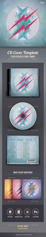 Minimal Beats CD Cover Artwork