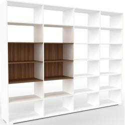 Photo of Wohnwand Weiß – Individuelle Designer-Regalwand: Hochwertige Qualität, einzigartiges Design – 301 x