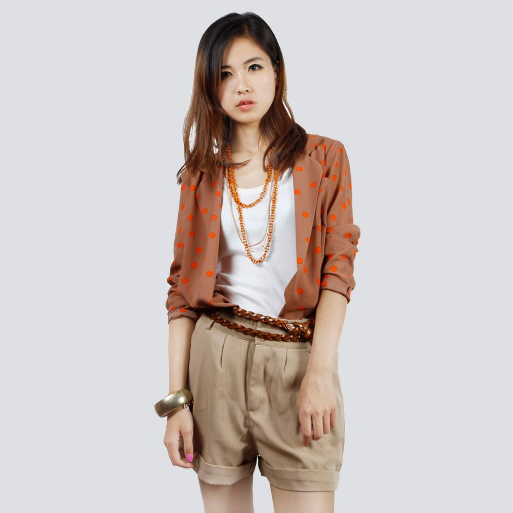 casual uniform shirts for women | China Ladies Casual Wear ...
