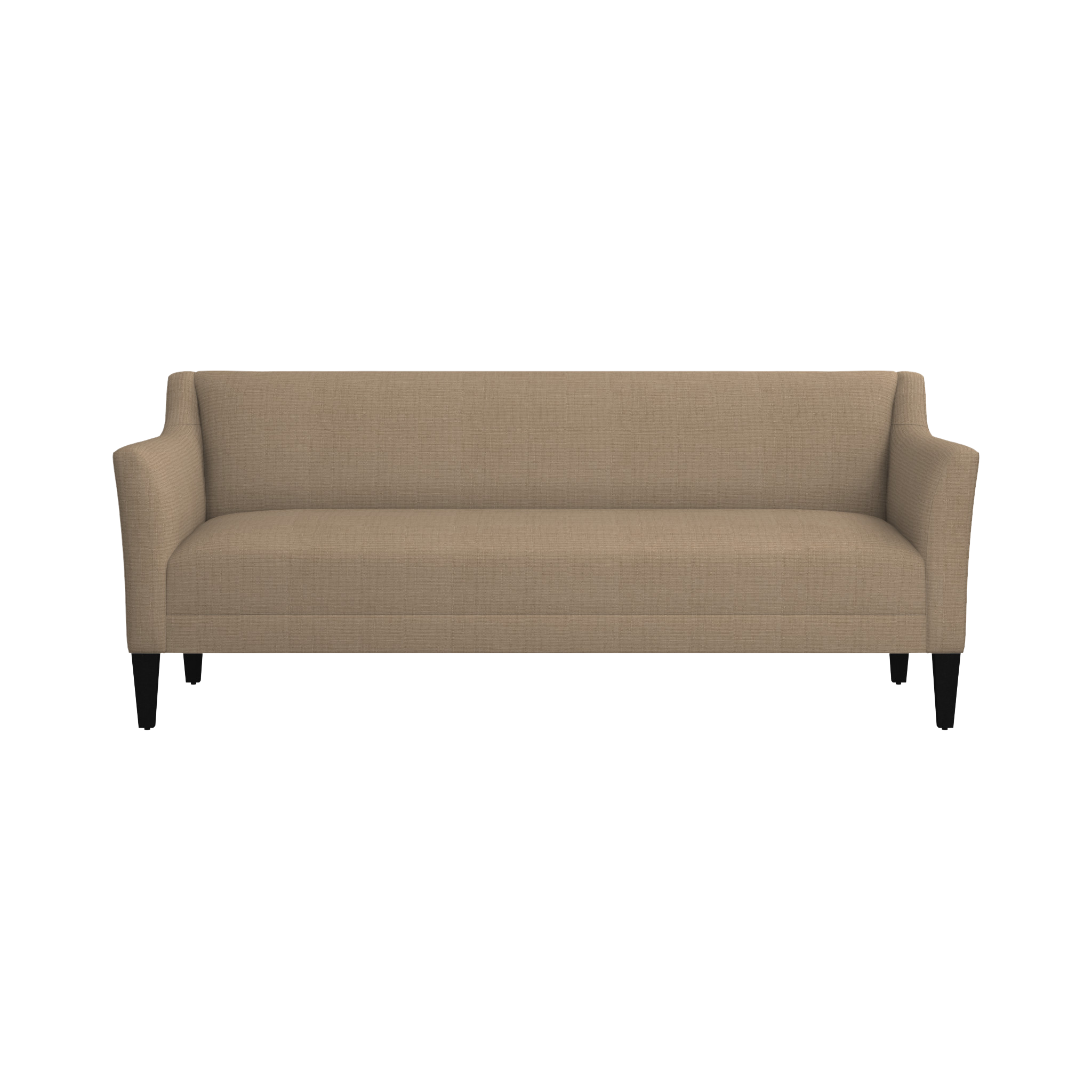 Shop margot 80 sofa graceful curvy margot makes an impressive statement at an equally impressive value this sofas upright profile features high track