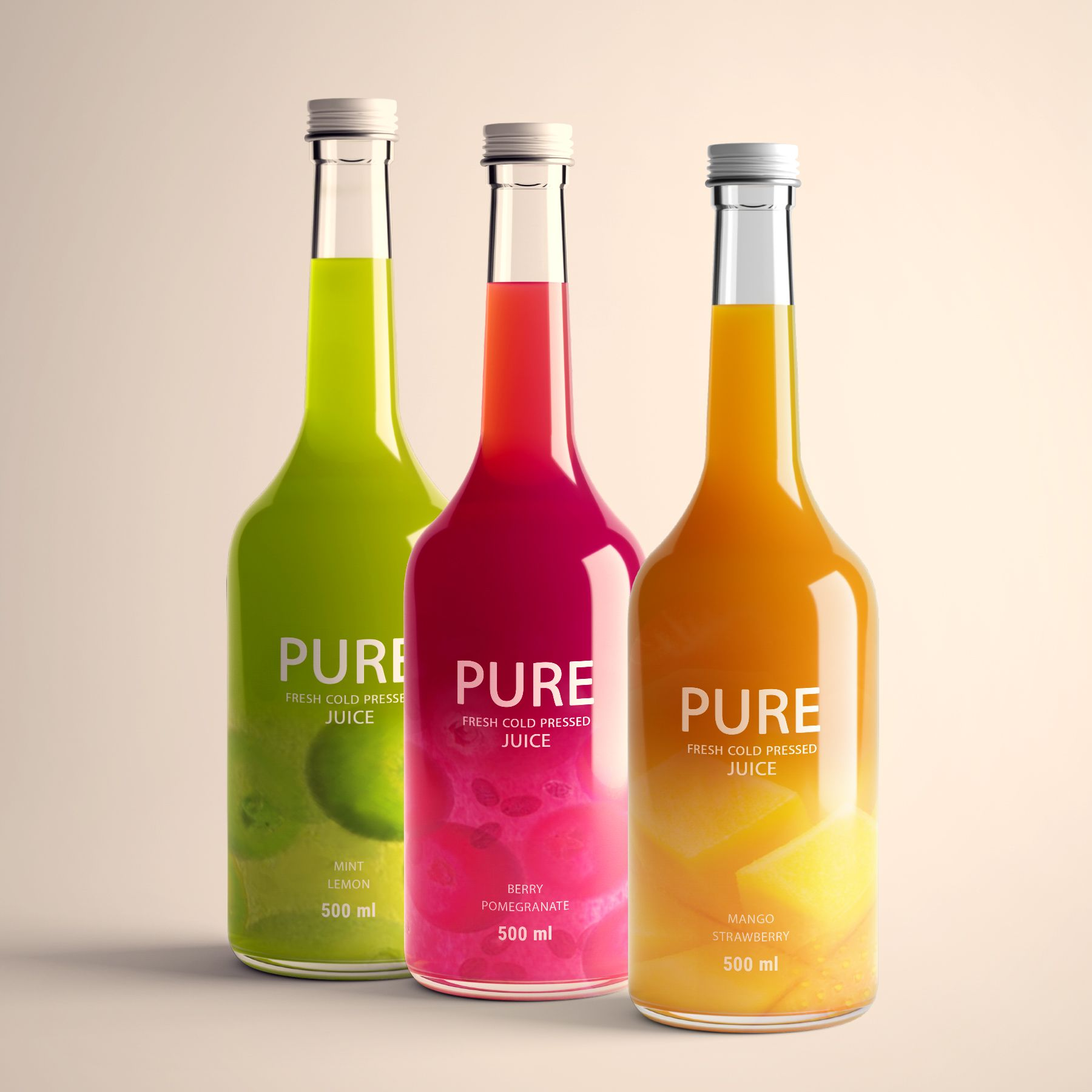 Pure Juice Packaging From Iran World Brand Design in