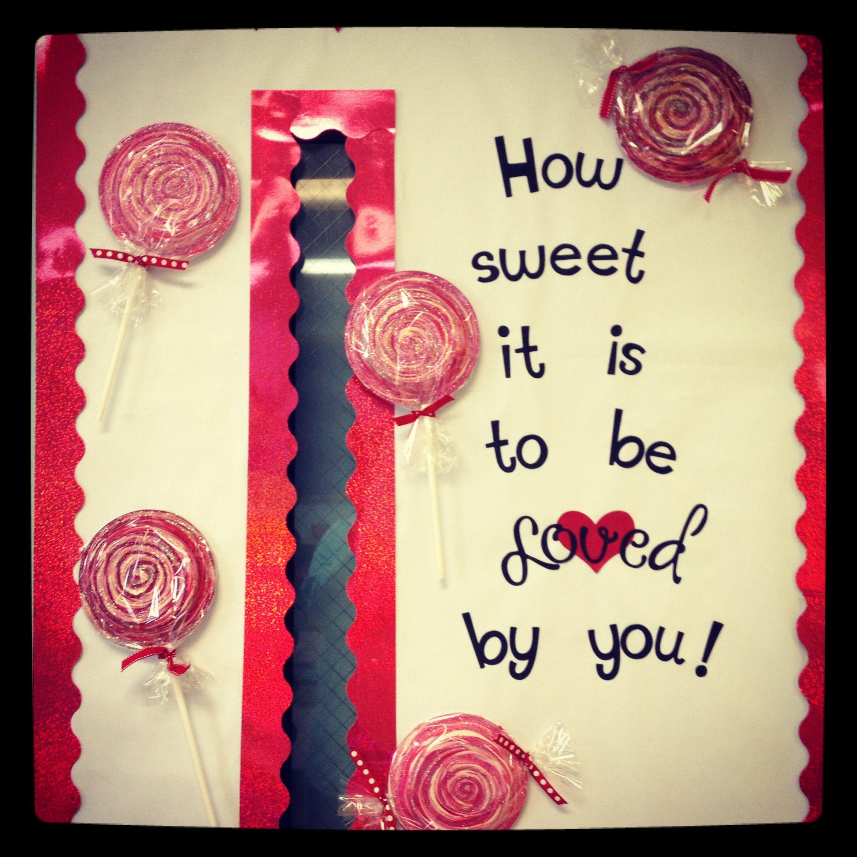 Valentine Bulletin Board Pre K