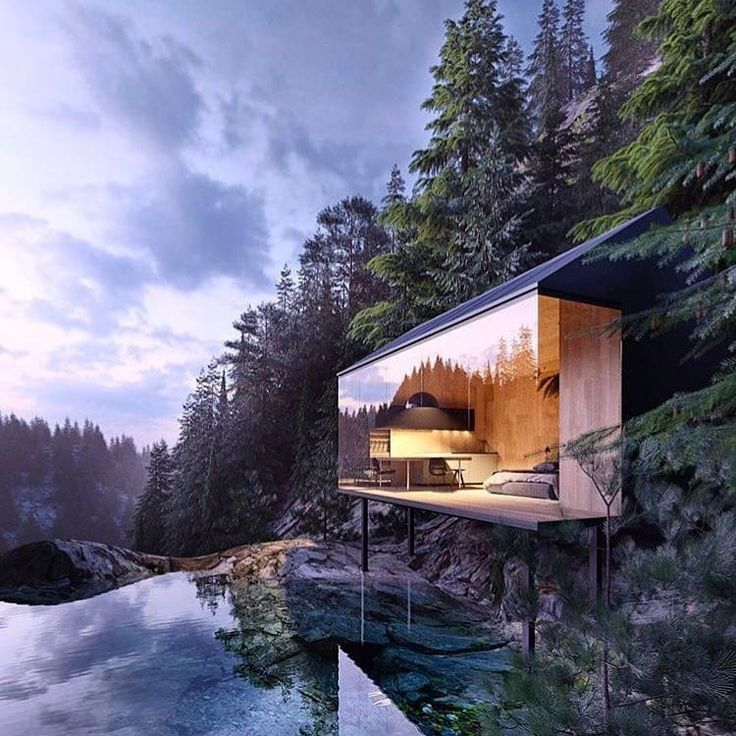 Diseno Casa Bosque: Is This Real? This View Is A Dream!