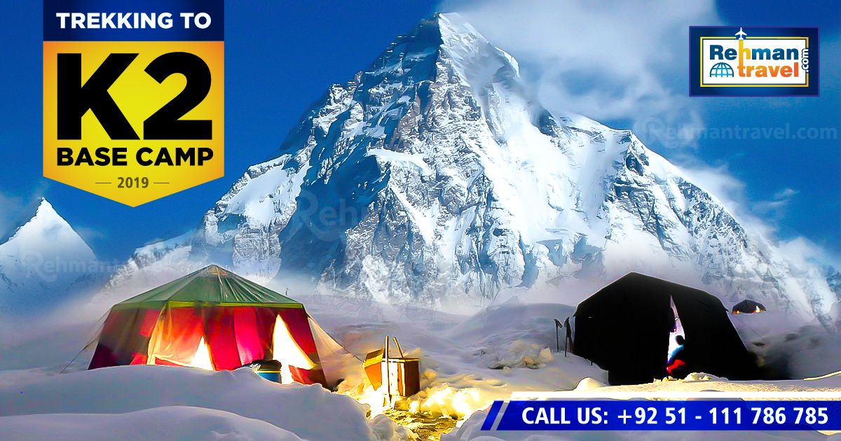 K2 base camp tours stay the night day tours