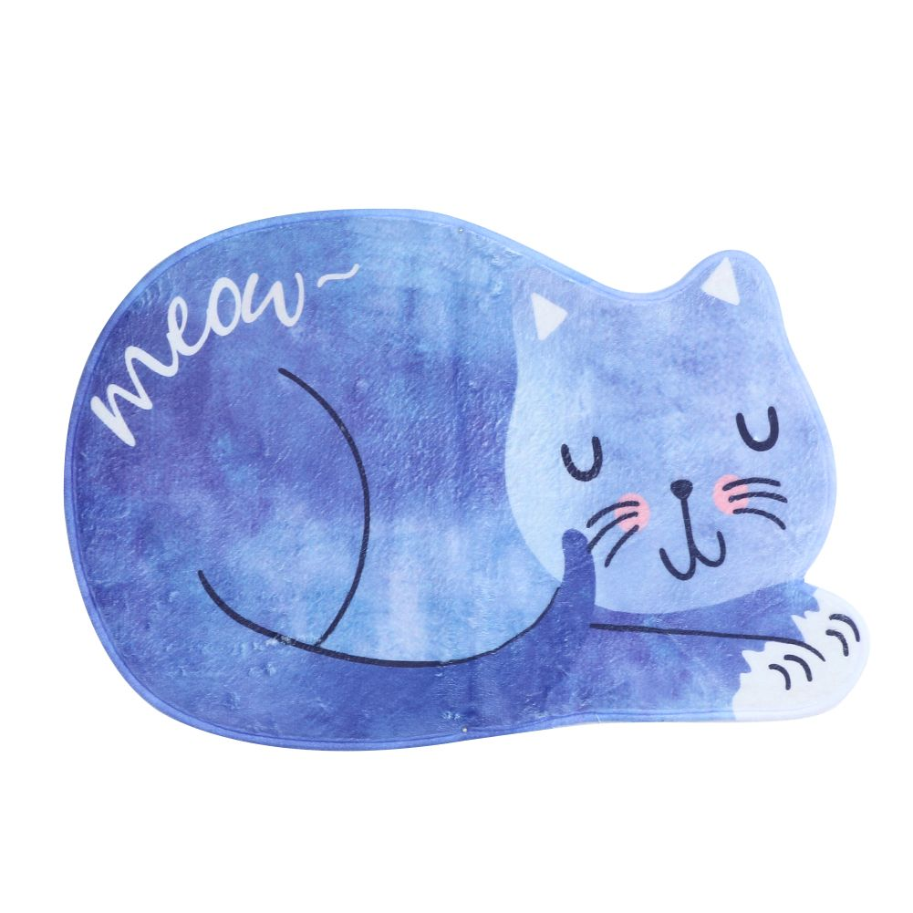 Click to Buy << Bathroom Product False Sleeping Cat Bathmat Farley ...