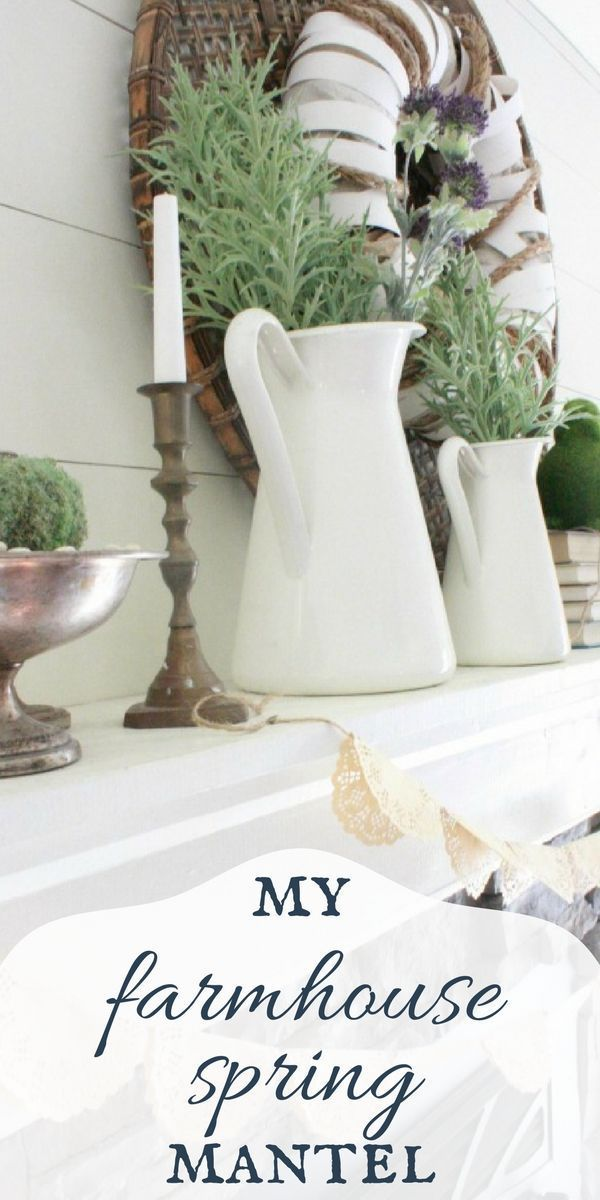 Farmhouse Decor Clean Crisp Organized Farmhouse: Its Time To Clean Out The Winter And Decorate! Check Out