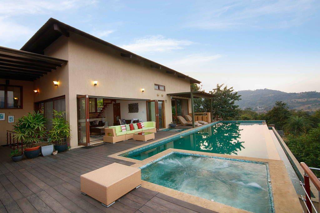 Villa in lonavala india fresco villa at lake pavna - Hotel with private swimming pool in lonavala ...