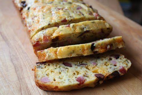 Aida's Ham and Cheese Cake