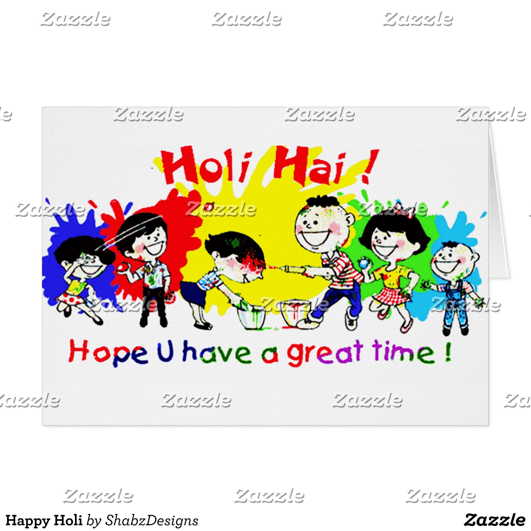 Holi Card Making Ideas Part - 39: Happy Holi Card