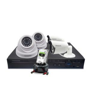 باناسونيك Panasonic Seven Cameras اكبر موقع الكترونى للانظمة الذكية فى مصر Graphic Card Writing Services Electronic Products