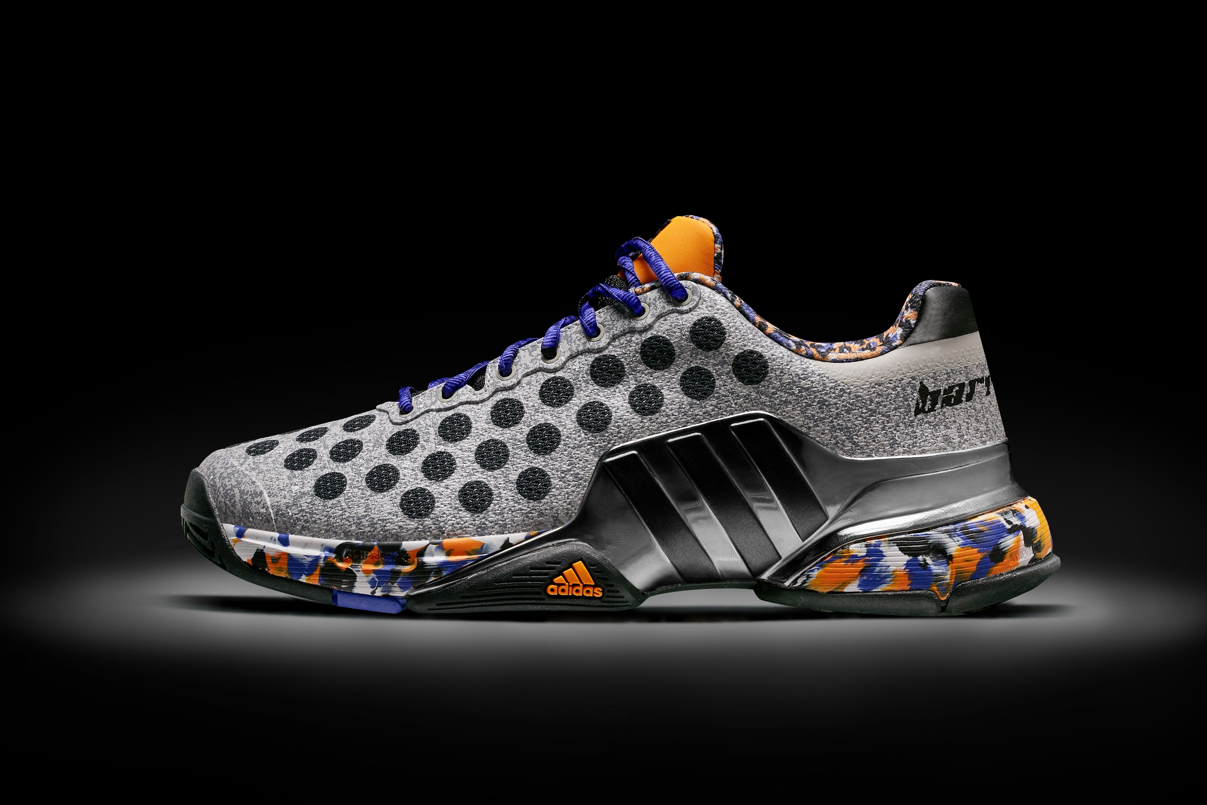 best cheap 64b49 c8c02 adidas Barricade 2015 Berlin Wall (Limited Edition Wall Pack .