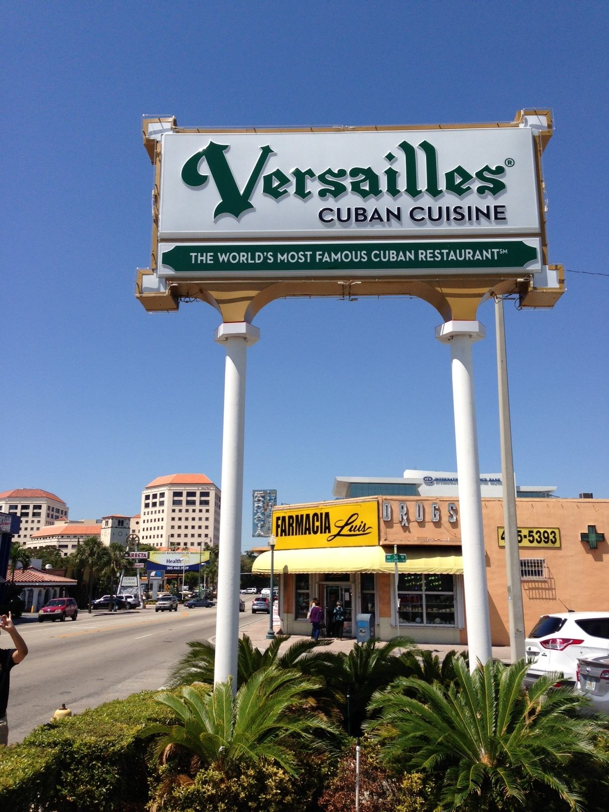 The World Most Famous Cuban Restaurant Versailles In Miami Florida