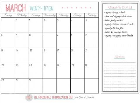 How to Organize the Home Office - HOD March Printables Organizing