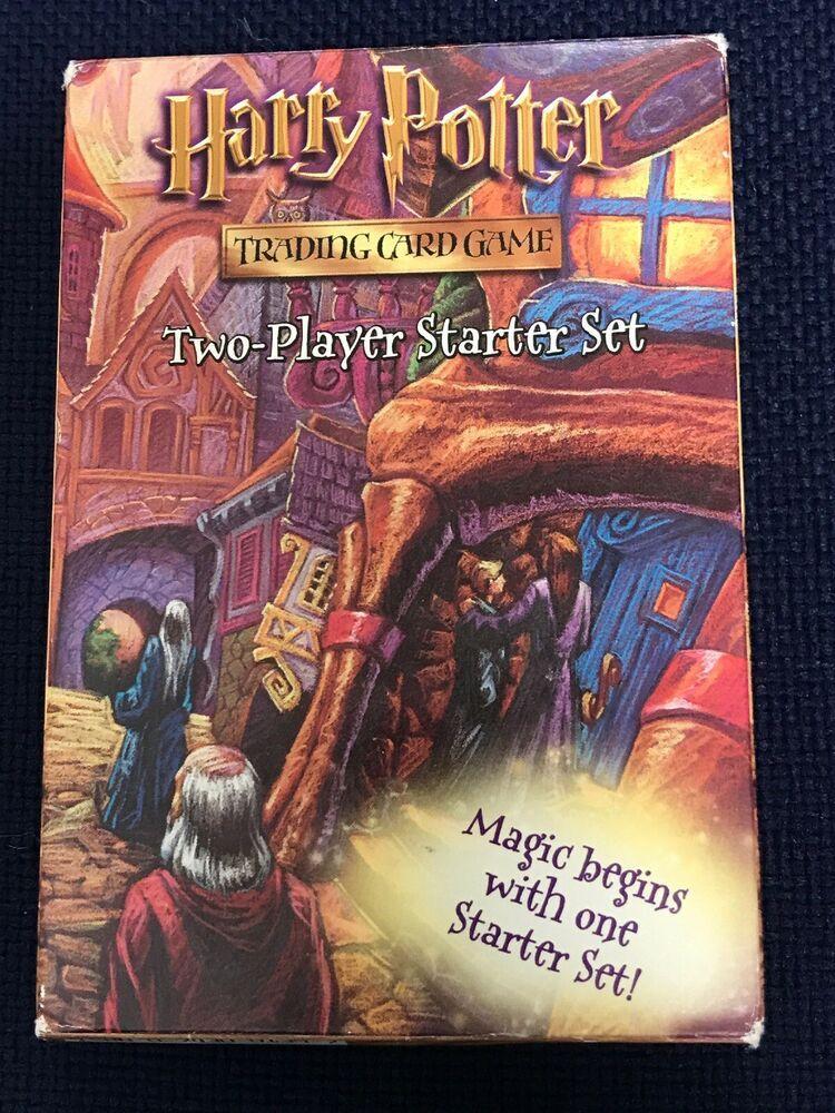 Harry potter 2player starter set 2001 wotc complete