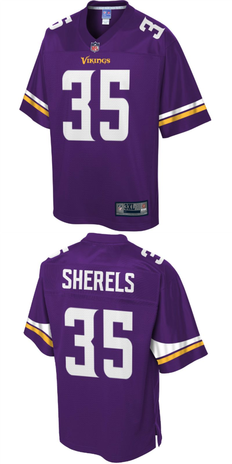 new styles f52c2 d6369 UP TO 70% OFF. Marcus Sherels Minnesota Vikings NFL Pro Line ...